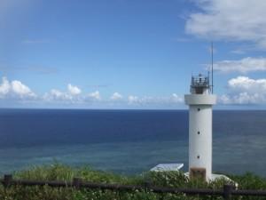 石垣島北端の平久保崎灯台
