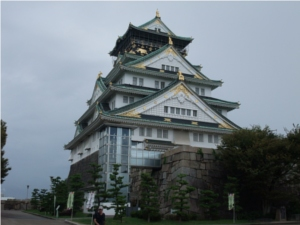大阪城!!