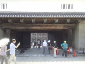 金沢城の入り口(?)石川門