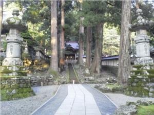 永平寺の勅使門