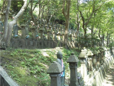 長慶寺の500羅漢