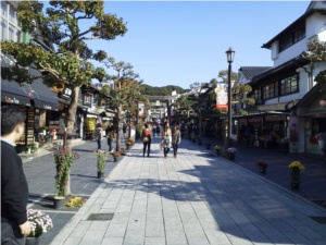 九州のとあるお宮の参道