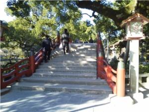 太宰府天満宮の太鼓橋