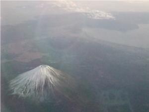 富士山綺麗じゃった