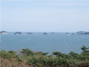 双観山展望台からの松島