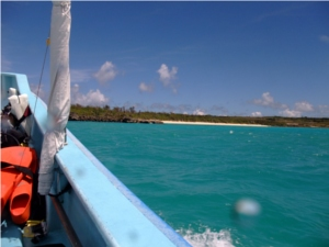 【写】青い海、青い空…