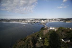 江ノ島展望灯台からの眺め