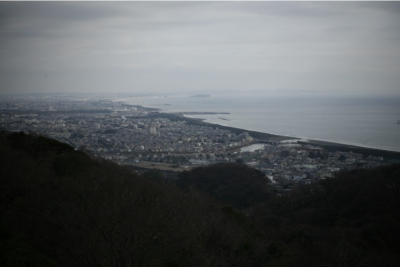展望台からの江の島