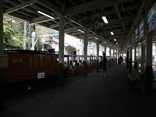 トロッコ列車に乗車♪